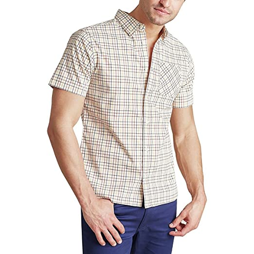 b86c4252c09 United By Blue Clydebank Plaid Button Down Shirt - Men's at Amazon ...