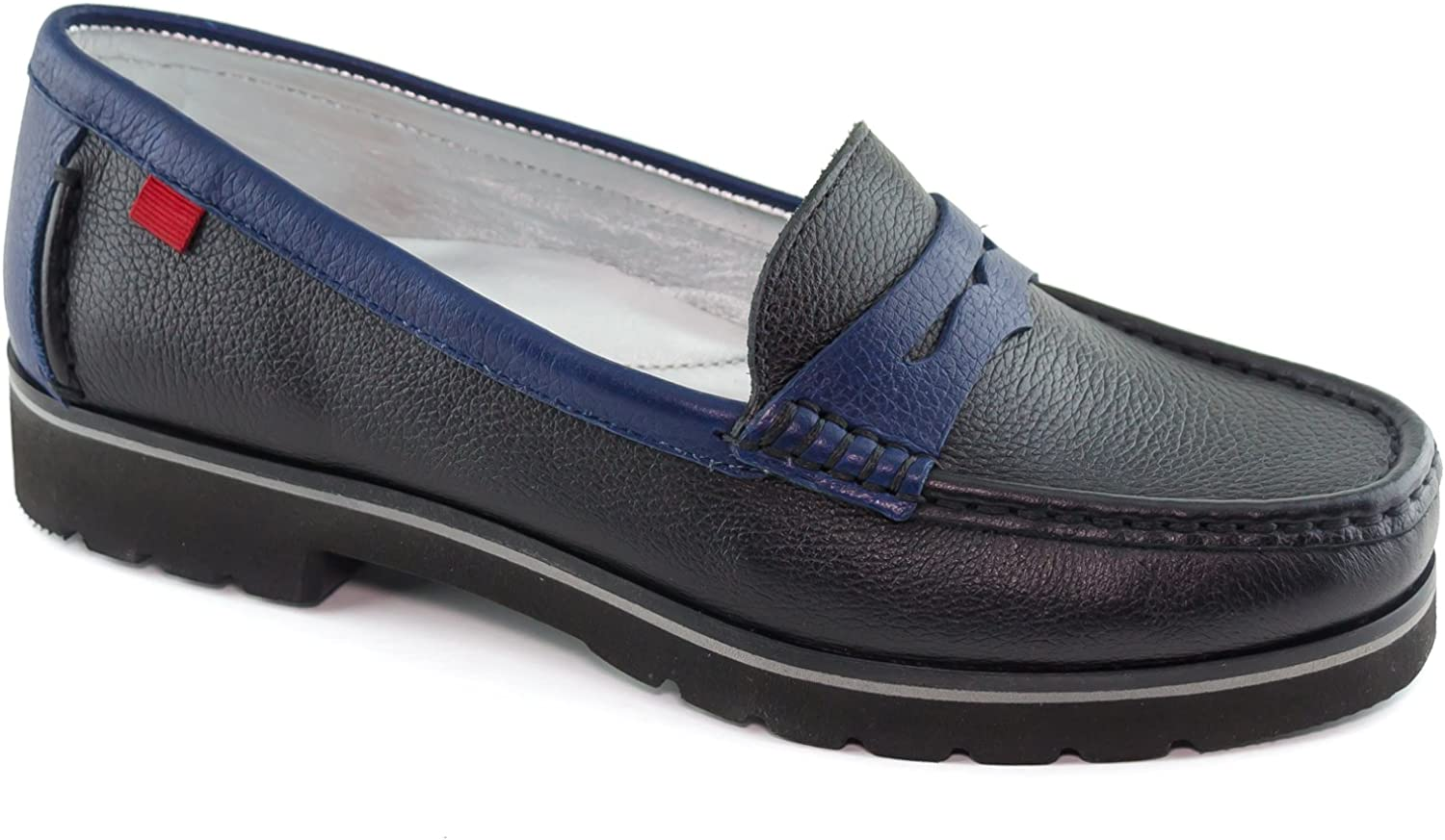 MARC JOSEPH NEW YORK Women's Leather Made in Brazil Tribeca Loafer Driving Style