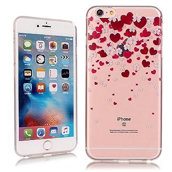 b1f3bd6380 SmartLegend iPhone6 Plus ケース/ iPhone6s Plus ケース クリア シリコン 超薄型 耐衝撃 最