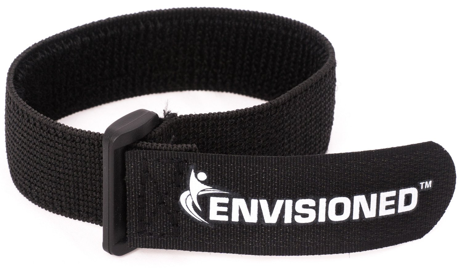 Elastic Reusable Cinch Straps 1'x20' - 10 Pack Hook and Loop - Plus 2 Free Bonus Reusable Cable Ties Envisioned Products Inc.