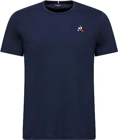 Hombre Le Coq Sportif ESS tee SS Col V N/°2 M Camiseta