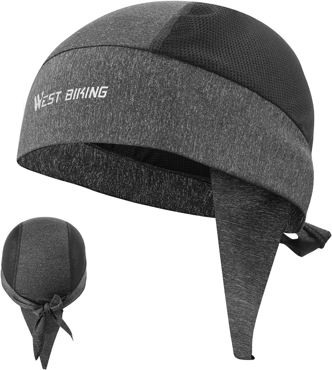 Sweat Wicking Doo Dew Rags Skull Cap Beanie for Men Cycling Fishing Motorcycle