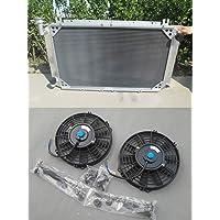 Radiador de aluminio + ventiladores para Patrol GQ