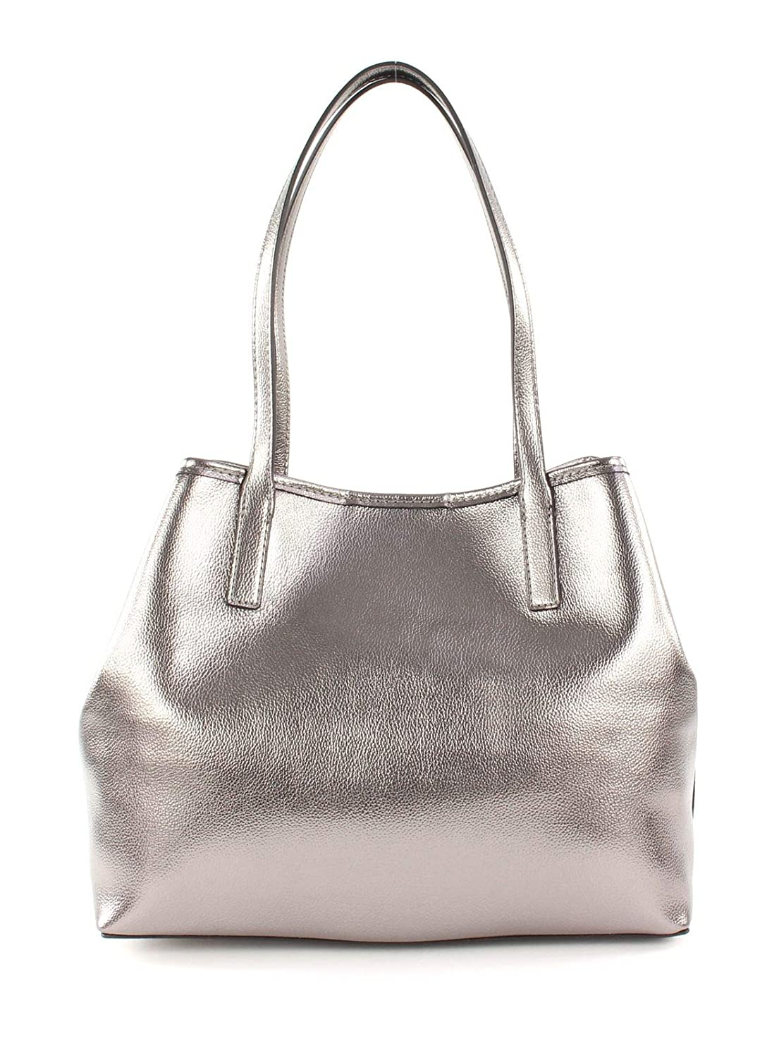 Guess Vikky, Women's Tote, Silver (Pewter), 15x27x32, 5 cm