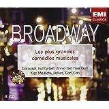 Broadway : Les Plus Grandes Comédies Musicales (Coffret 5 CD)