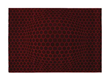 Lars contzen teppich honeycombballs rot cm design