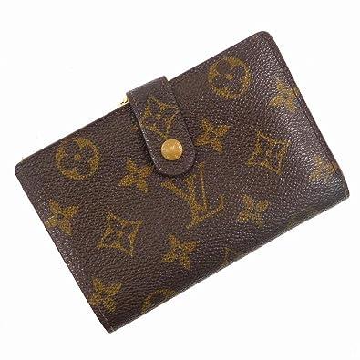 [ルイヴィトン] LOUIS VUITTON 二つ折り財布 モノグラム PVC×レザー X16978 中古