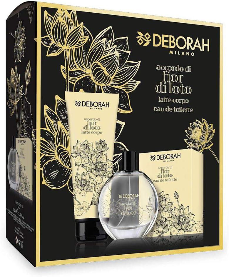 Deborah Fragranze Kit Fior di Loto Eau de Toilette Ml.100 +