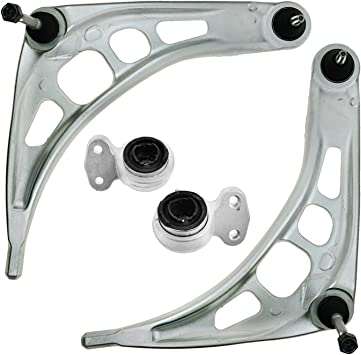 TRQ Front Lower Control Arm Bushings /& Brackets Pair of 2 for BMW E36 3 Series