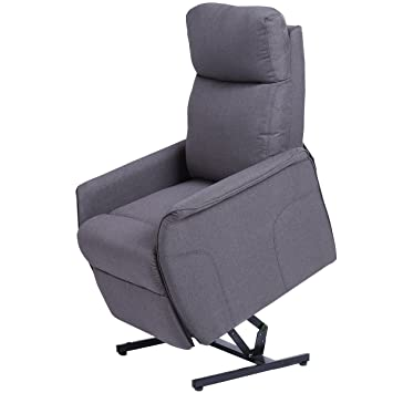 Giantex Electric Power Lift Chair Recliner Sofa Chair, With Fabric Padded  Seat ,W/