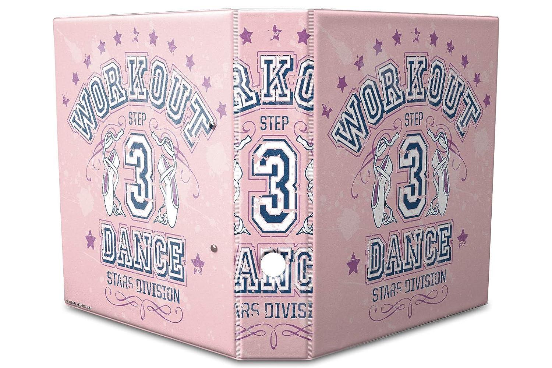 Archivador A4 Carpeta 2 anillas 60mm impreso Escuela danza: Amazon.es: Hogar