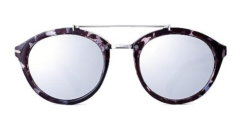 Maltessa Volutto (Ceniza espejo Plata) - Gafas de sol para mujer. Lo último en moda eyewear