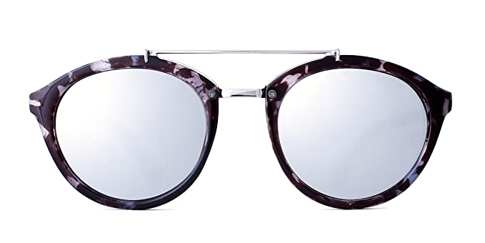 Maltessa Volutto (Ceniza espejo Plata) - Gafas de sol para ...
