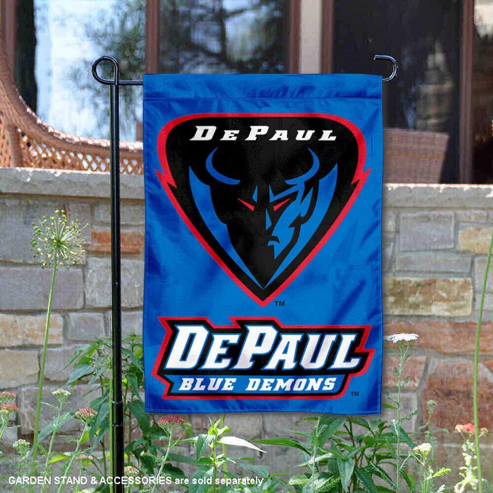 DePaul University Garden Flag and Yard Banner