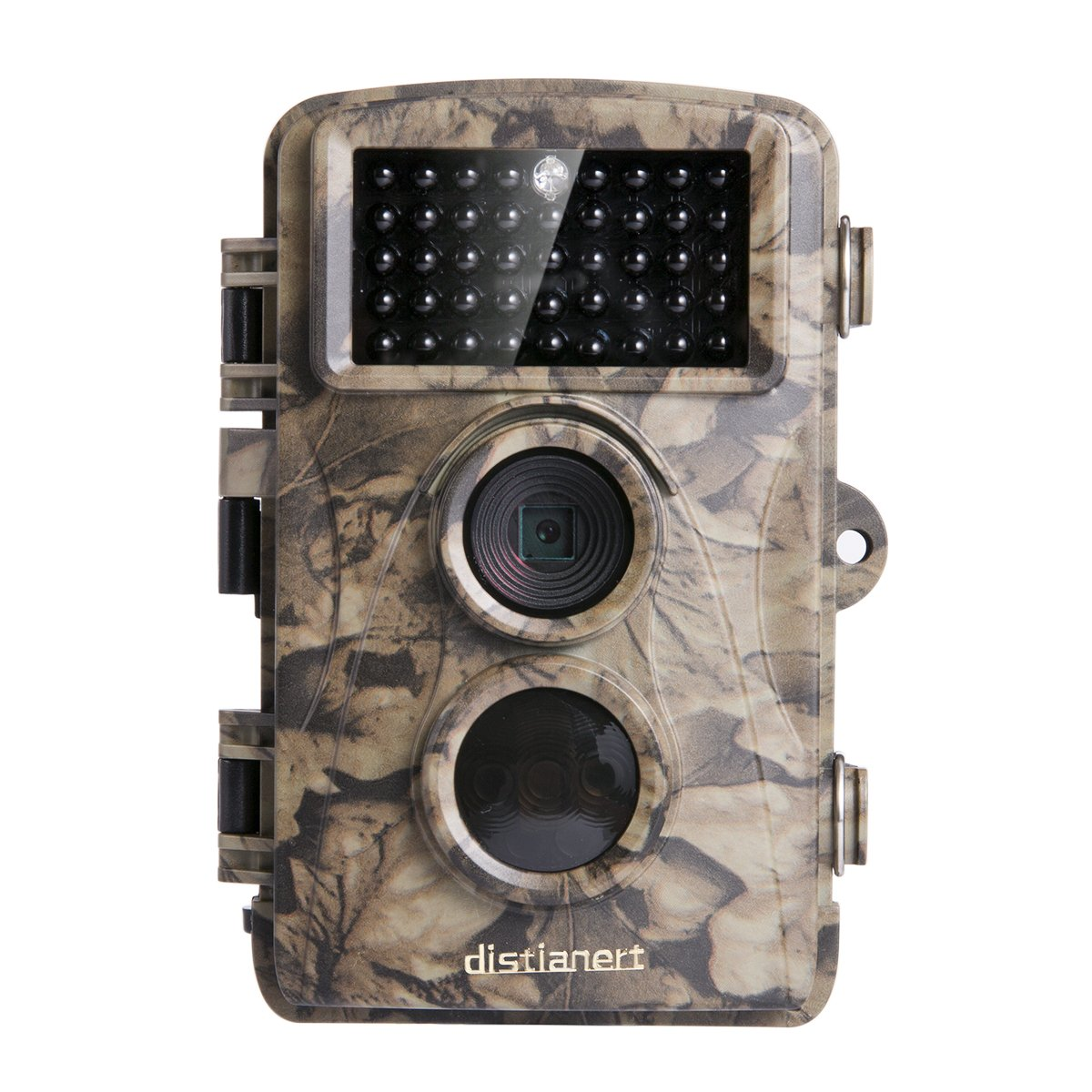 distianertトレイルカメラ12 MP 720p赤外線ゲーム& Deerカメラ低グローNight Vision 65 ft防水ip56 with 34pcs 850 nm IR LED 2年保証 B0762N99NH 12MP 720P 12MP 720P