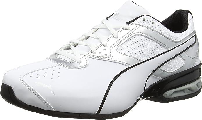 Puma Tazon 6 FM Sneakers Laufschuhe Herren Weiß/Silber