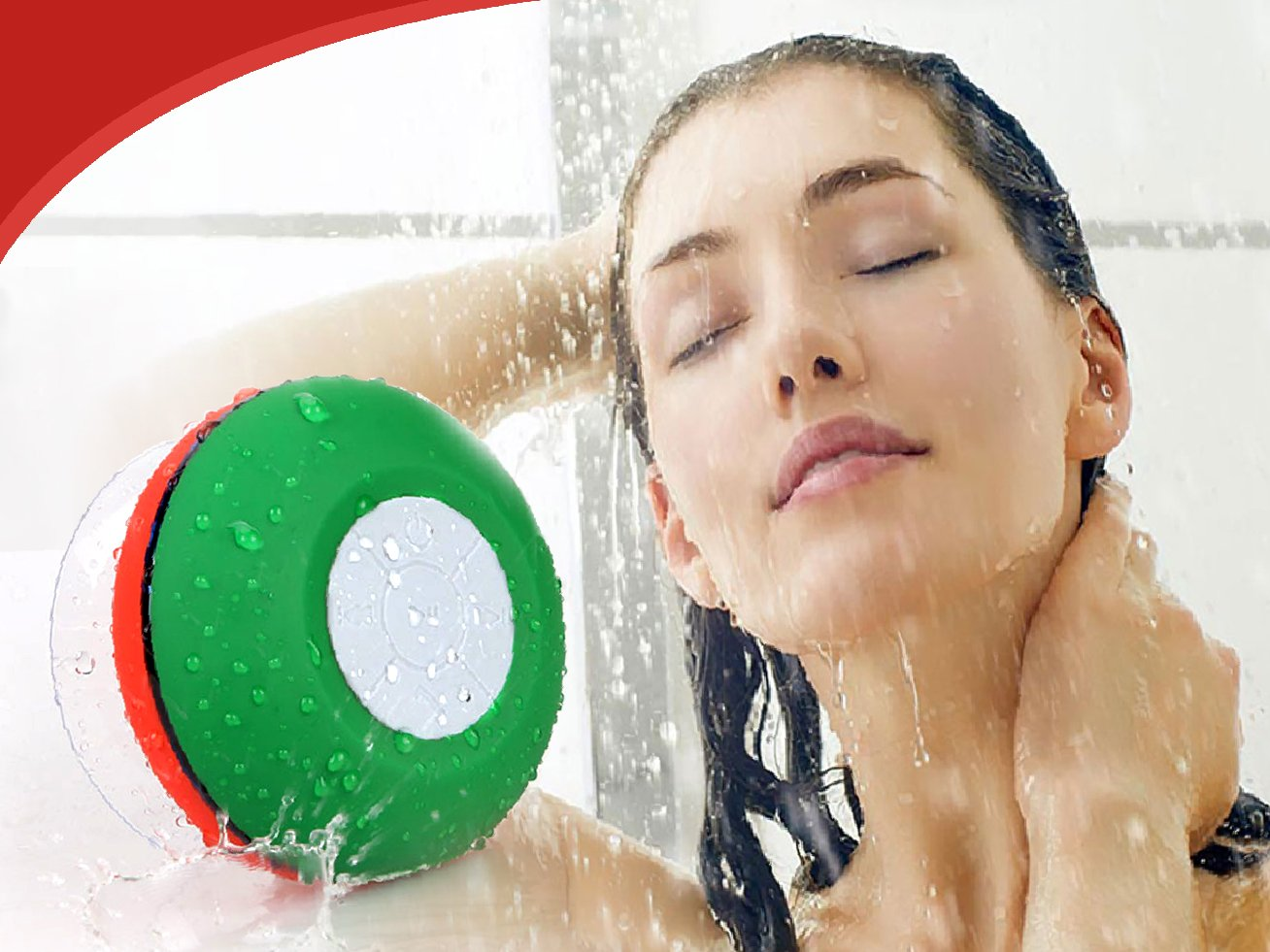BEST CHRISTMAS GIFT Wireless Bluetooth Shower speaker