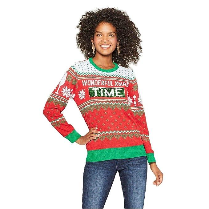 Wine Christmas Sweater.Well Worn Women S Wonderful Xmas Time Wine Ugly Christmas