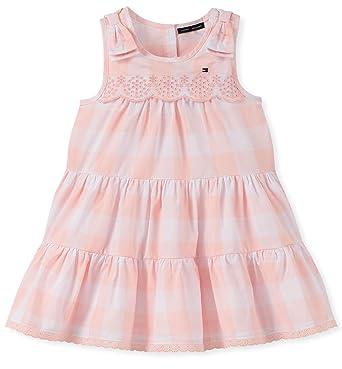 4a0be10d Tommy Hilfiger Girls' Toddler Dress, Blue Stripes 2T