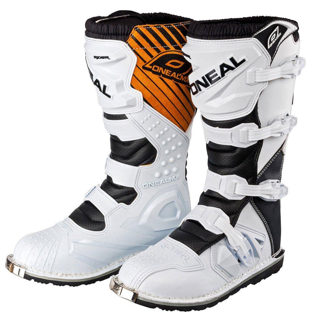 0329-113 - Oneal Rider EU Motocross Boots 47 Black O' Neal