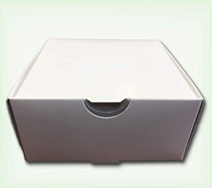 plain white business card boxes xl 250 count box 500 qty