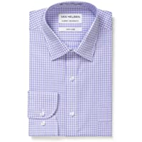 Van Heusen Men's Classic-Relaxed Fit Gingham Business Shirt