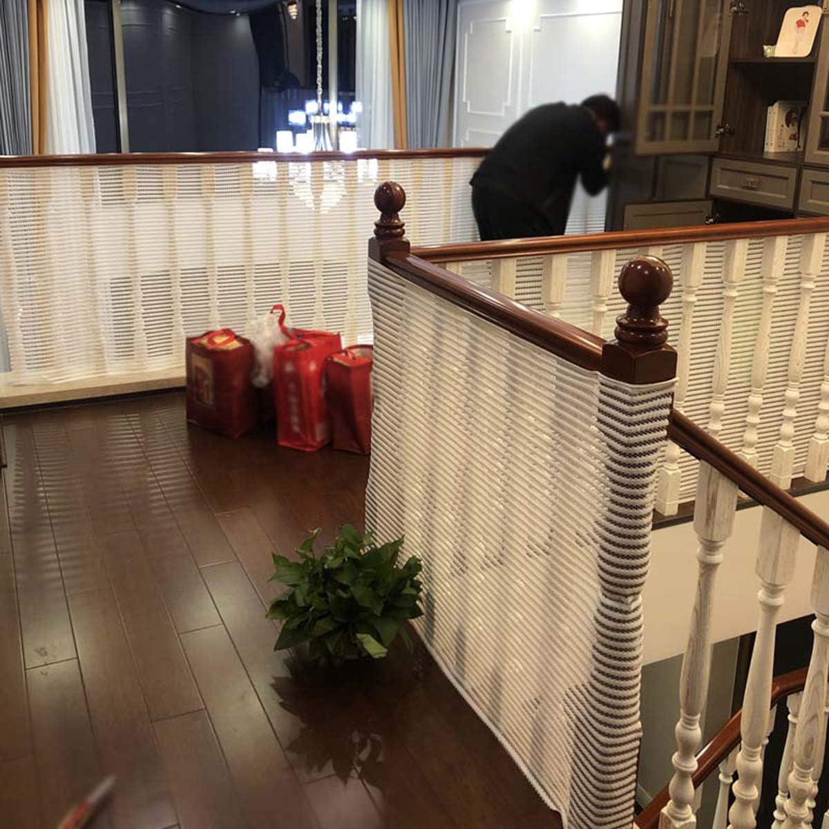 HQPCAHL Red De Seguridad Red De Protecci/ón Duradero Red De Seguridad Escaleras Malla Tejida para Escaleras Balcones Terrazas Puertasventanas Beb/é Mascota