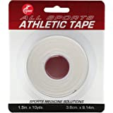 "Cramer Team Color Athletic Tape, Easy Tear Tape for Ankle, Wrist, & Injury Taping, Protect & Prevent Injuries, Promote Healing, Athletic Training Supplies, 1.5"" X 10 Yard Roll, Colored AT Tape"