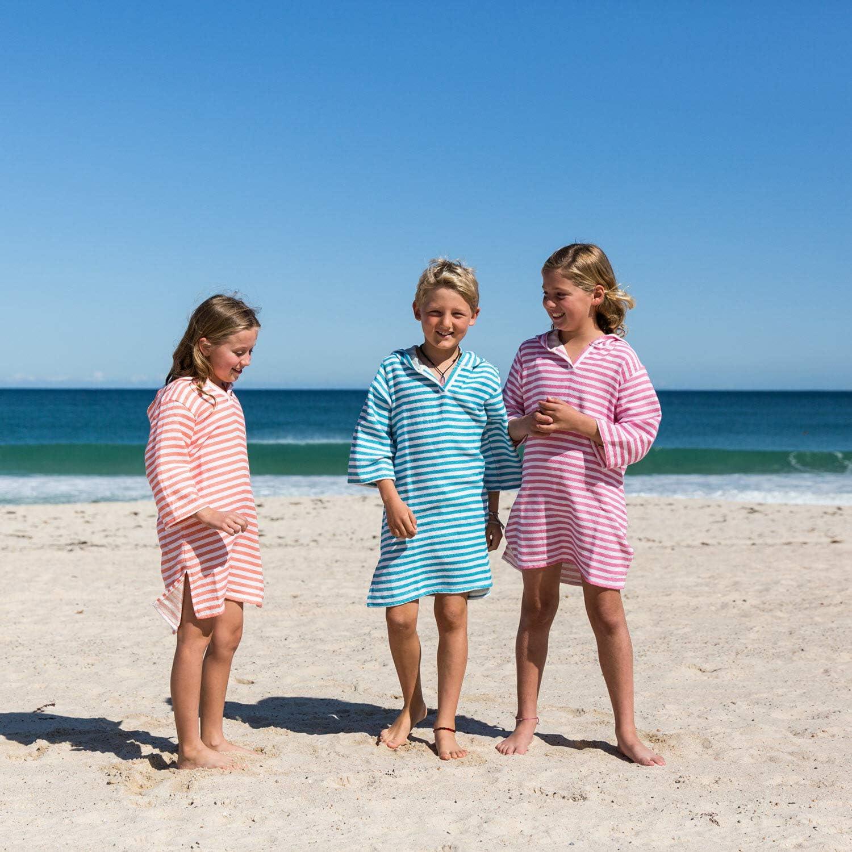 Premium Quality 100/% Turkish Cotton SAMMIMIS Kids Hooded Towel Cover Up
