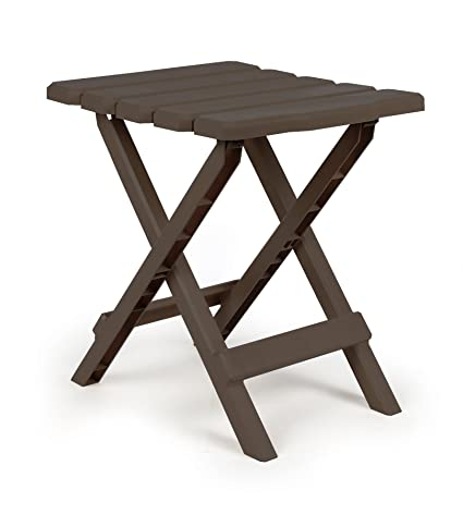 Camco Adirondack Portable Outdoor Folding Side Table, Perfect For The  Beach, Camping, Picnics - Amazon.com: Camco Adirondack Portable Outdoor Folding Side Table