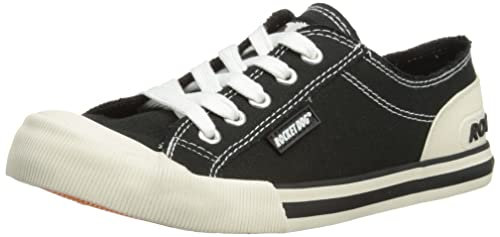Jazzin, Baskets Femme, Noir (Black Black), 36 EURocket Dog