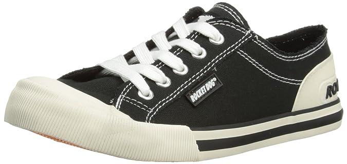 Rocket Dog Damen Jazzin Ryker Cotton Fashion Sneaker - Schwarz, 6 UK