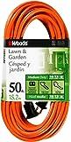Woods 0723 16/2 Vinyl SJTW Extension Cord, 50-Foot, Orange