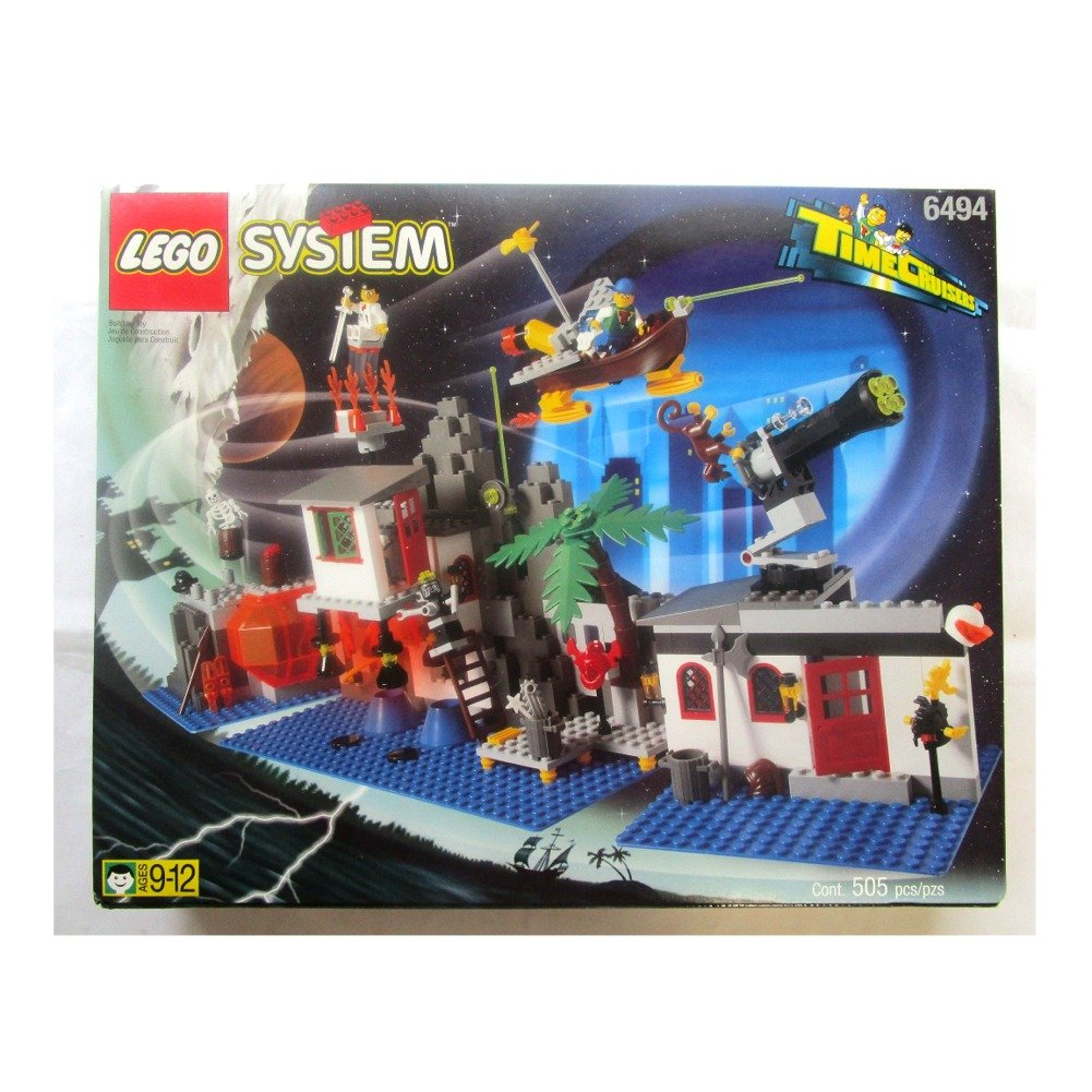 Lego Time Cruisers 6494 Mystic Mountain Lab Ebay