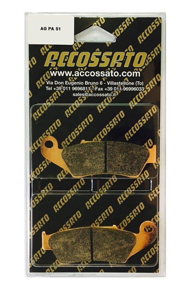 2003 GASGAS  EC 450 FSE Accossato Pastiglia freno AGPA51ST 450