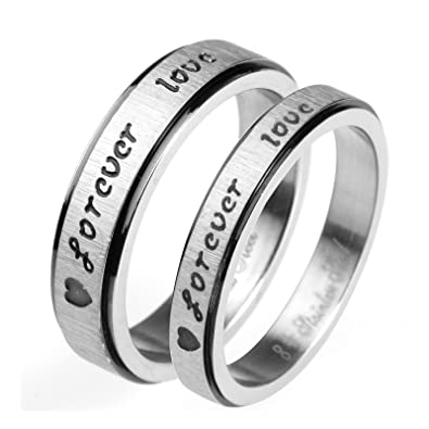 Daesar 1 Pcs Hochzeit Ring Edelstahl Ring Fur Paar Mit Gravur
