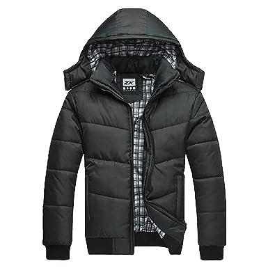 Black winter jacket uk