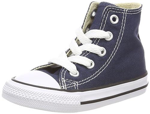 Chuck Taylor All Star Hi, Zapatillas de tela Unisex, Azul, 40 EU Converse