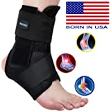 SNEINO Ankle Brace,Lace Up Ankle Brace for Women,Ankle Brace for Men,Ankle Brace Stabilizer,Ankle Brace for Sprained…