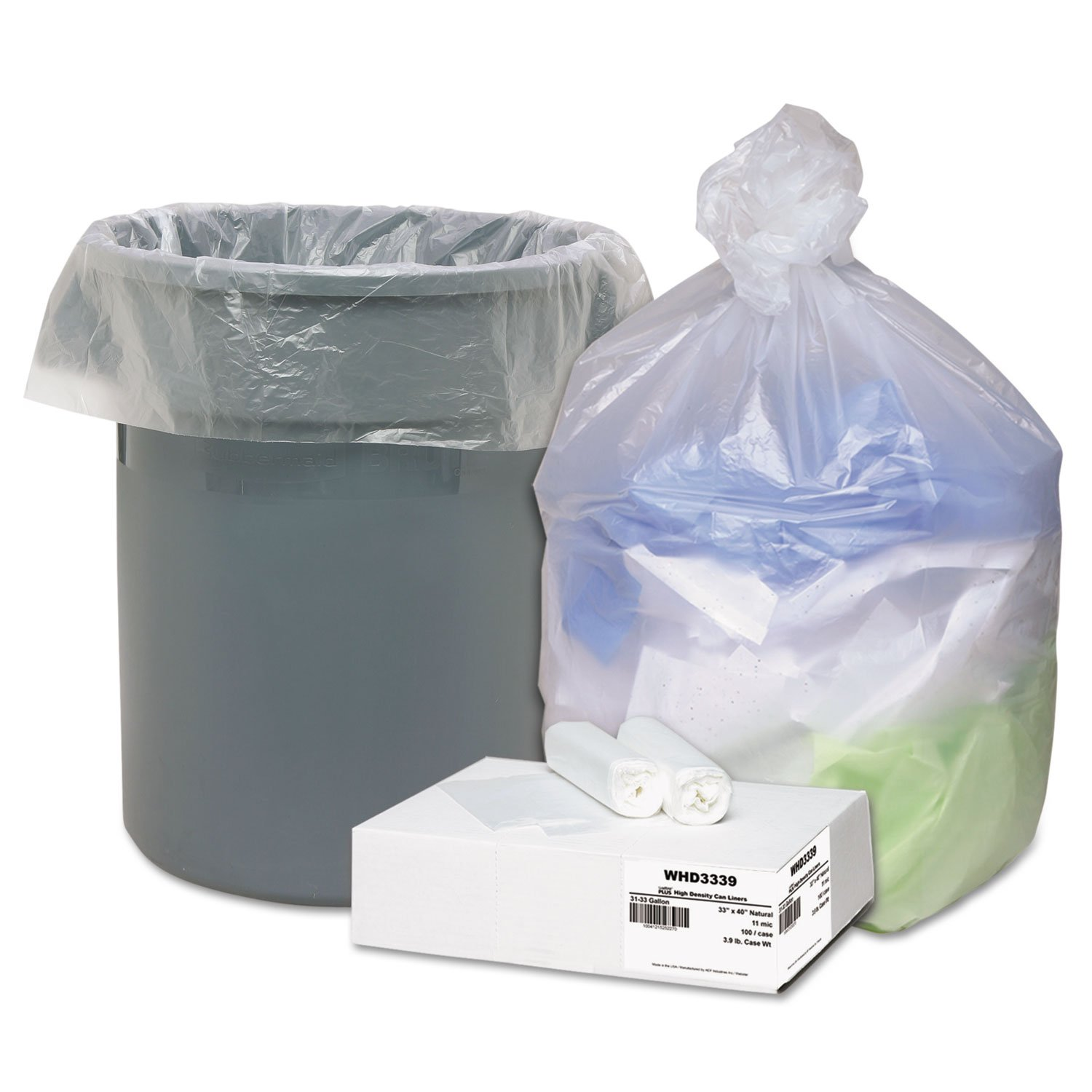 WBIWHD3339 - Webster Ultra Plus High Density Trash Can Liner