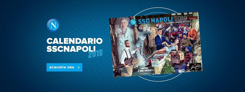Napoli Calendario.Calendario Ssc Napoli 2019 Amazon It Cancelleria E