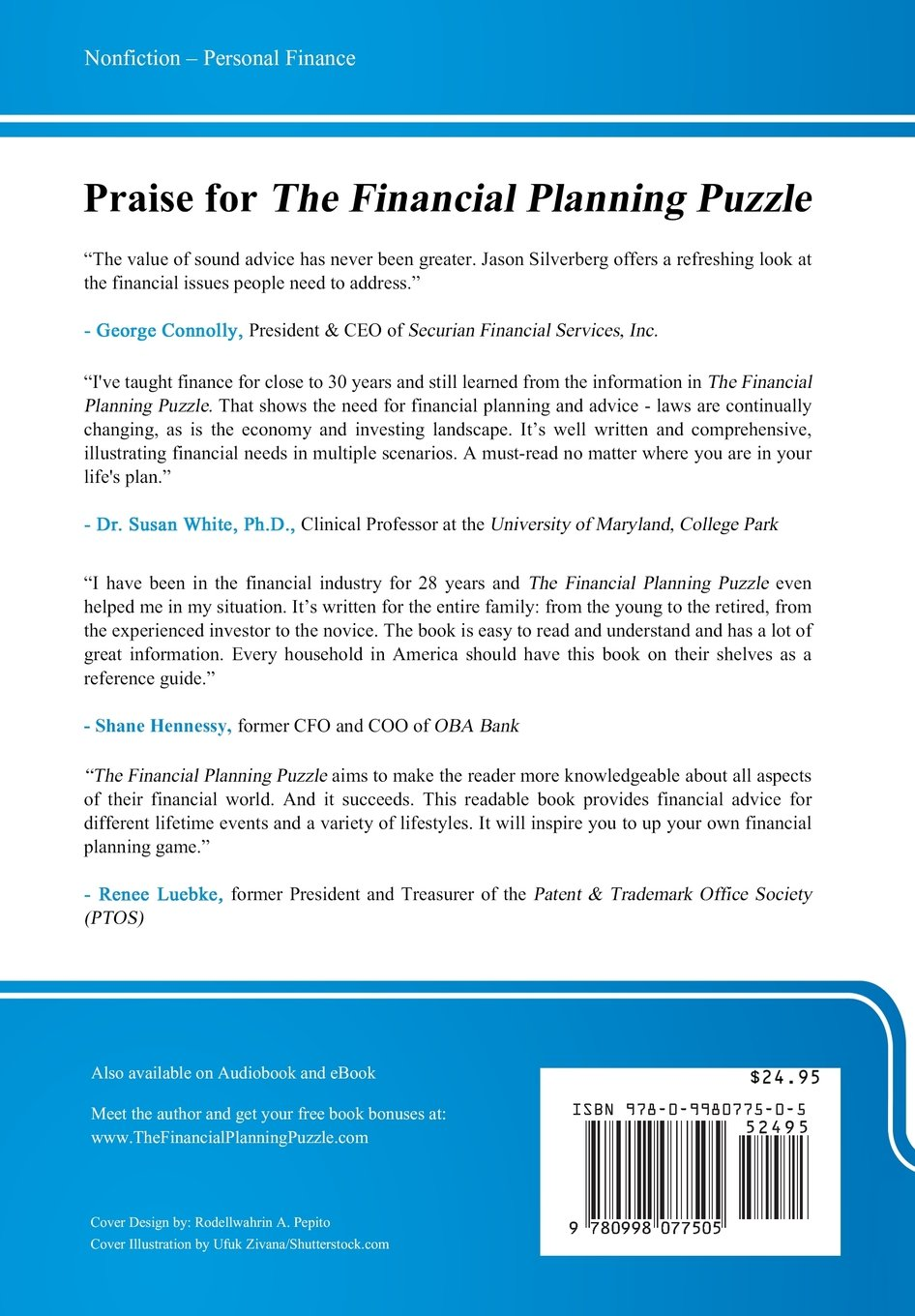 The Financial Planning Puzzle: Fitting Your Pieces Together To Create  Financial Freedom: Jason Silverberg: 9780998077505: Amazon.com: Books