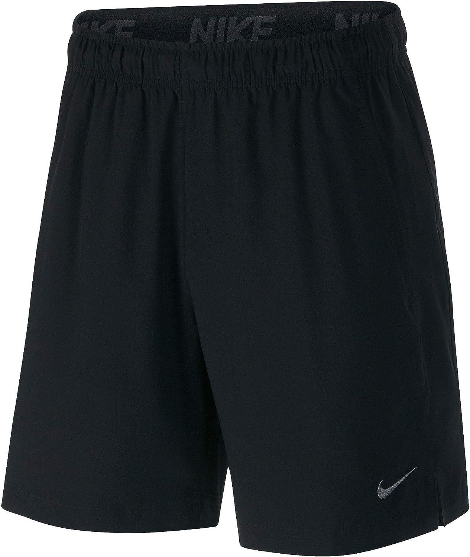 Nike Mens FLX SHORT WOVEN, BLACK/BLACK/DARK GREY, 3XL