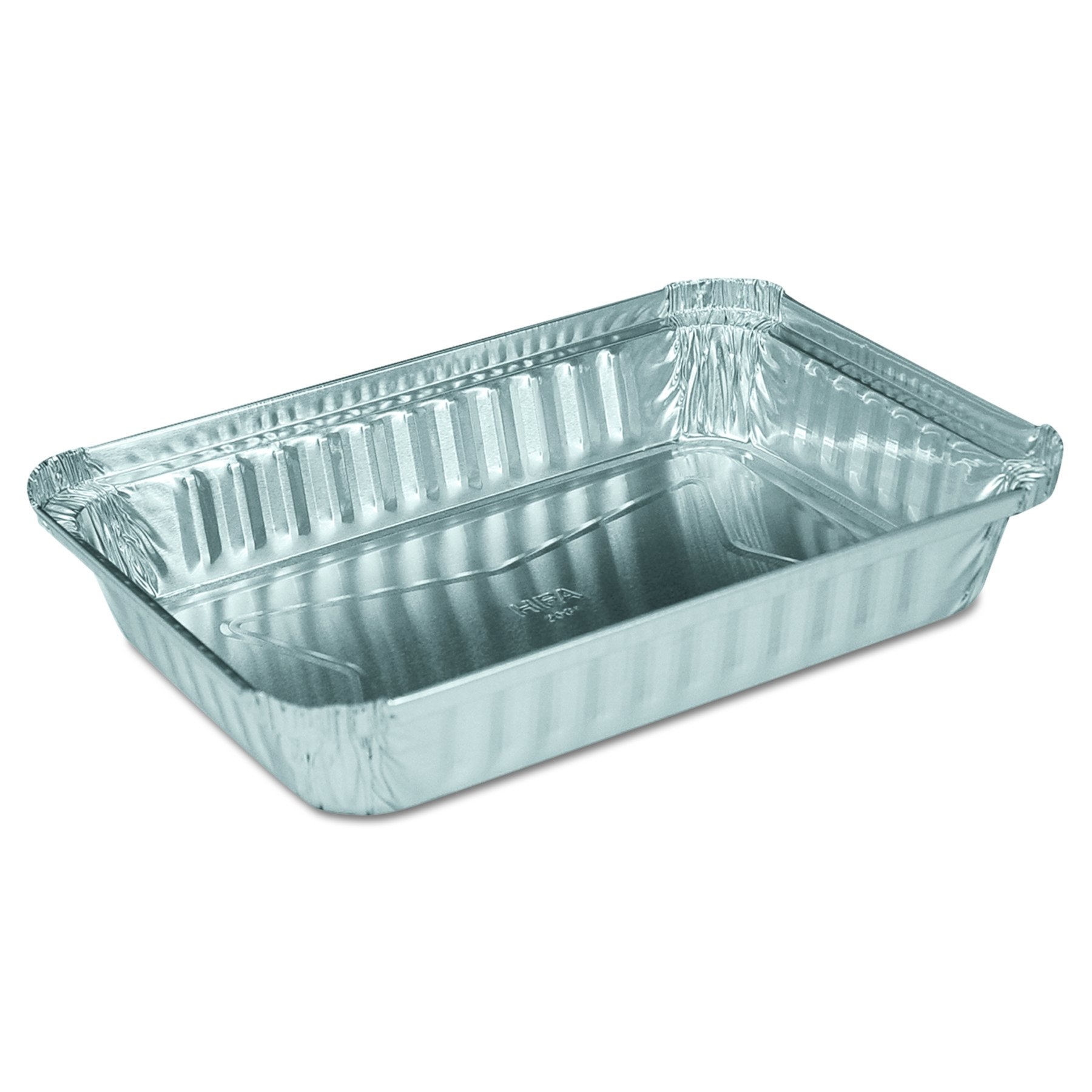 Handi-Foil 206130 8-19/32-Inch Length by 6-Inch Width by 1-1/4-Inch Depth 1.5 lbs Oblong Aluminum Container (Case of 500)
