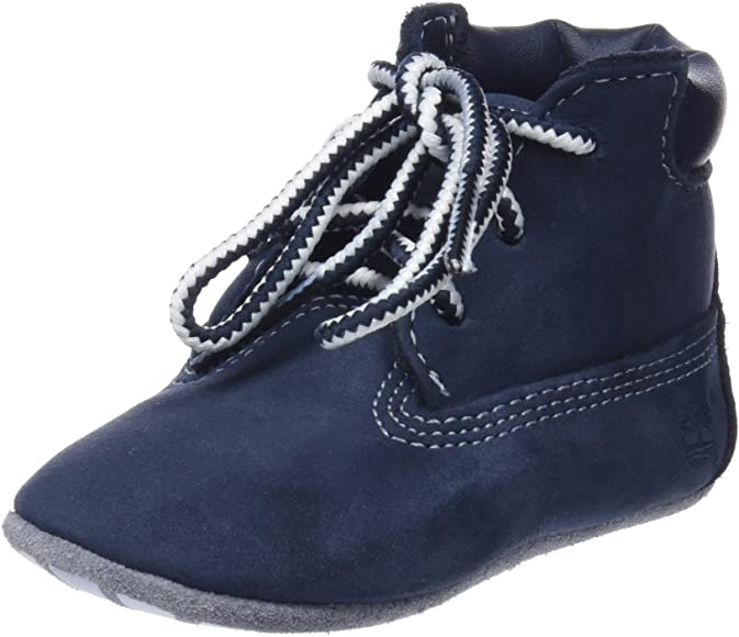 Timberland Crib Bootie with Hat, Unisex
