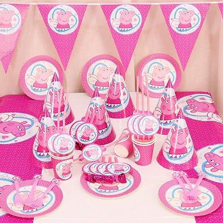 LAOHAO Suministros De Cumpleaños Vajilla Banquete Vestir ...