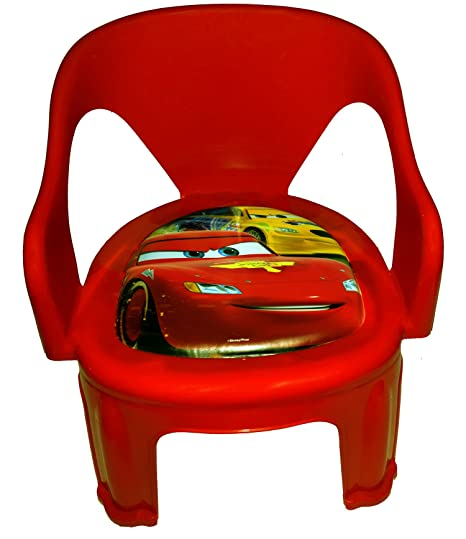 Blossoms Multipurpose Small Chair For Kids Baby   Red