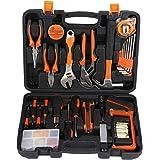 CATUO Mallette à outils Boîte à outils Set d'outils 100pcs