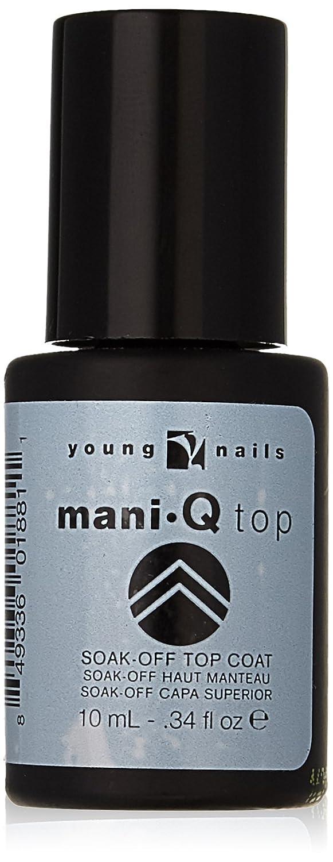 Amazon.com : Young Nails Color Mani Q Nail Polish, Top Coat, 0.34 ...