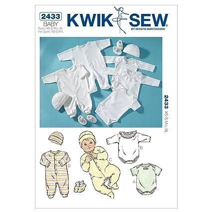 Amazon.com: KWIK-SEW PATTERNS K2433OSZ Rompers Sewing Pattern, Jumpsuits